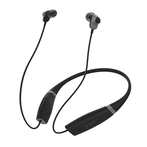 Comfort Earbuds by Jam Audio Comfort Buds Collared Bluetooth Earbuds Hx Ep700bk Jam Audio