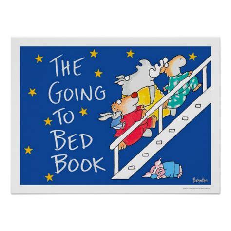 The Going To Bed Book by The Going To Bed Book Poster By Boynton