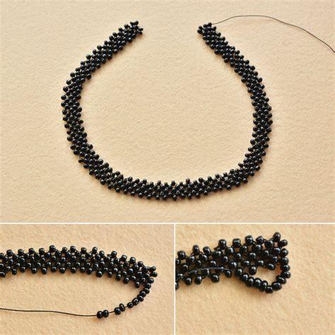 pandahall original diy project vintage black seed bead