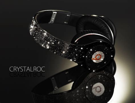 Headset Beats Dr Dre crystalroc fully crystallized dr dre beats headphone