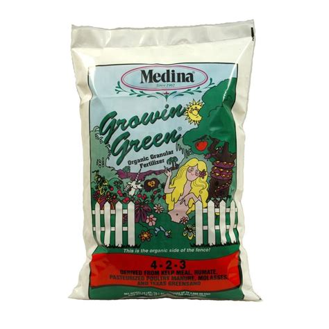 upc 046753170409 medina fertilizers 40 lbs growin green