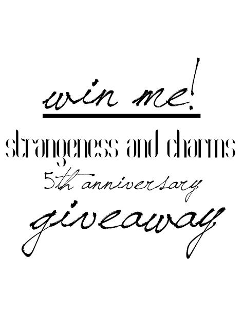 Strangeness and Charms: SHOOTING & GIVEAWAY: let's