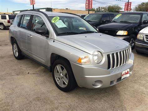2010 Jeep Compass Mpg 2010 Jeep Compass Sport 4dr Suv In Tx Auto Credit