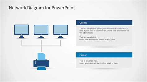 network template network diagram template for powerpoint slidemodel