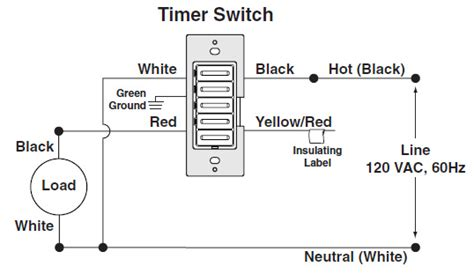 timer switch connector wiring diagram circuit and
