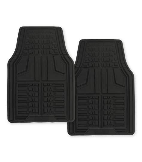 goodyear premium 2 goodyear rubber car mat black