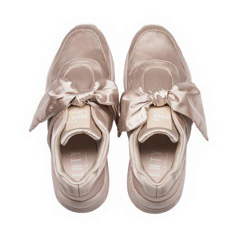 Pma Rihana Pink fenty by rihanna bow s sneakers pink tint