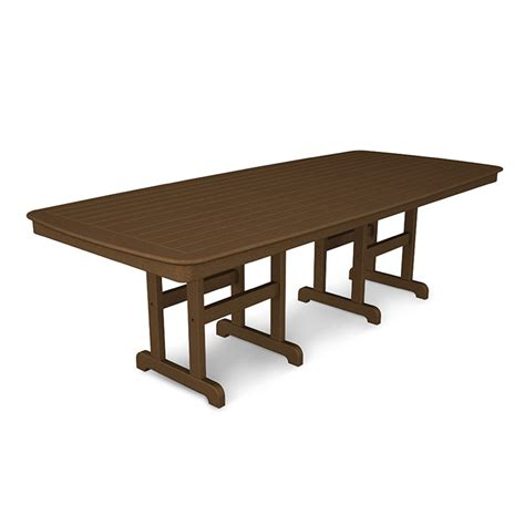 large rectangular outdoor dining table outdoor large rectangular patio dining table polywood