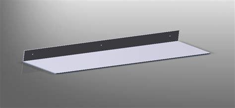 mensole in alluminio mensola alluminio styleinox
