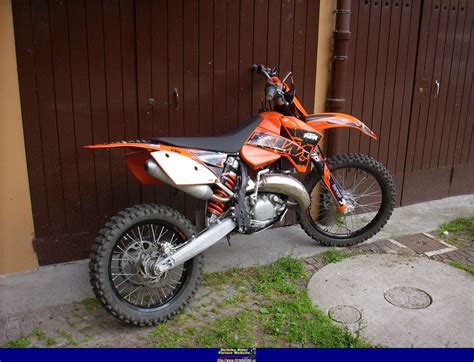 Ktm Exc 2007 2007 Ktm 125 Exc Pics Specs And Information