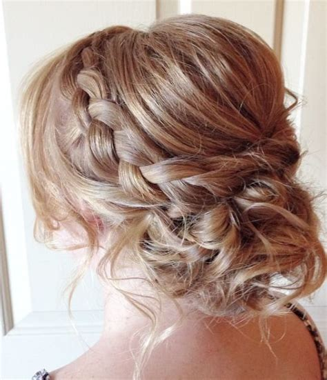 Wedding Hairstyles Low Updo by Braided Low Updo Wedding Hairstyle Updo Low Updo
