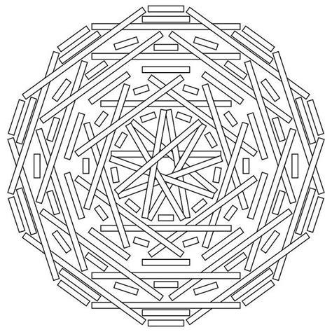 geometric elephant coloring pages 1000 ideas about geometric mandala on pinterest