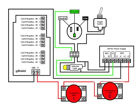 emergency stop switch wiring diagram wiring diagram with