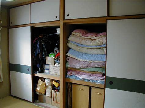 bread pan japanese style closet 押入れ oshiire