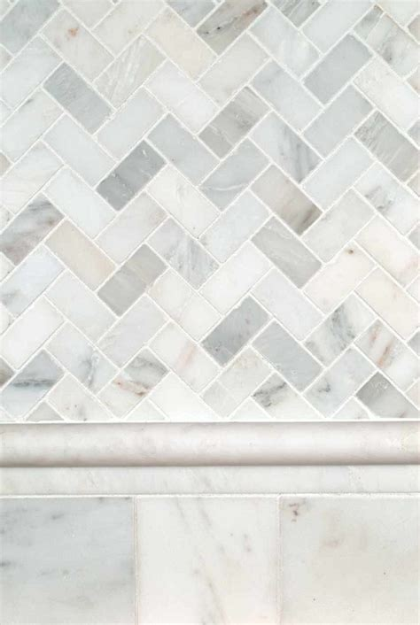 marble herringbone backsplash arabescato carrara herringbone backsplash