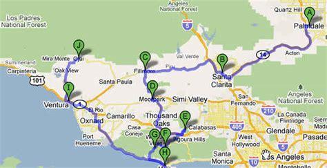 palmdale california us map palmdale california map