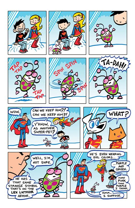 Family 01 Superman kid krypton superman family adventures 8