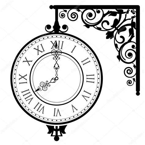 clipart orologio illustrazione vettoriale di orologio d epoca vettoriali