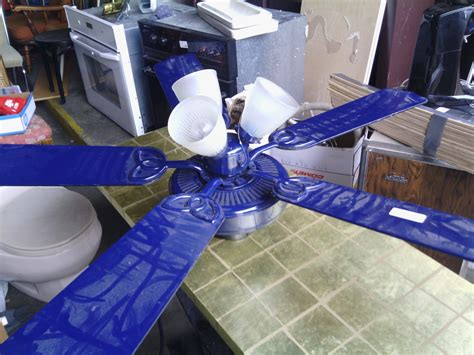 52 quot blue hton bay huntington ceiling fan youtube