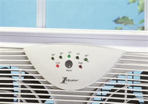 one touch window fan amazon com hawf2043 dual blade window fan