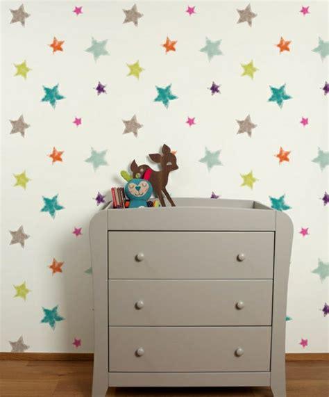 Sterne Tapete Kinderzimmer by 48 Tolle Beispiele F 252 R Kinderzimmer Tapete Archzine Net