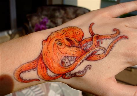 realistic octopus tattoo 35 adventurous octopus ideas creativefan