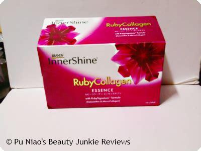 Innershine Ruby Collagen brand s innershine ruby collagen essence review pu niao