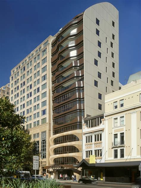 appartments in sydney tony owen partners warps facade of eliza apartments in sydney