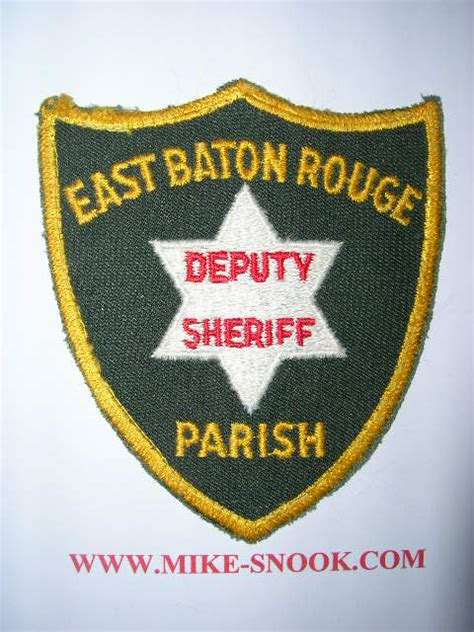 East Baton Sheriff Office by Mike Snook S Patch Collection State Of Louisiana