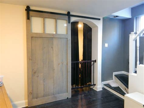 Rustic Barn Doors With Windows Atlanta Barn Doorsatlanta Sliding Barn Doors With Windows