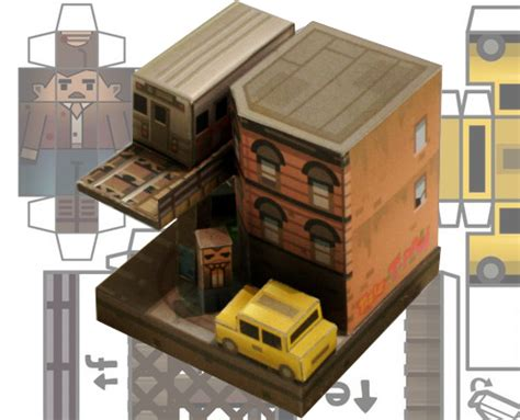 City Papercraft - recortable en papel de gta iv pixfans
