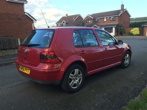 2001 vw golf gt tdi 19 130bhp fsh drives a1 may px for a van 2001 51 volkswagen golf gt tdi 130 bhp model red di