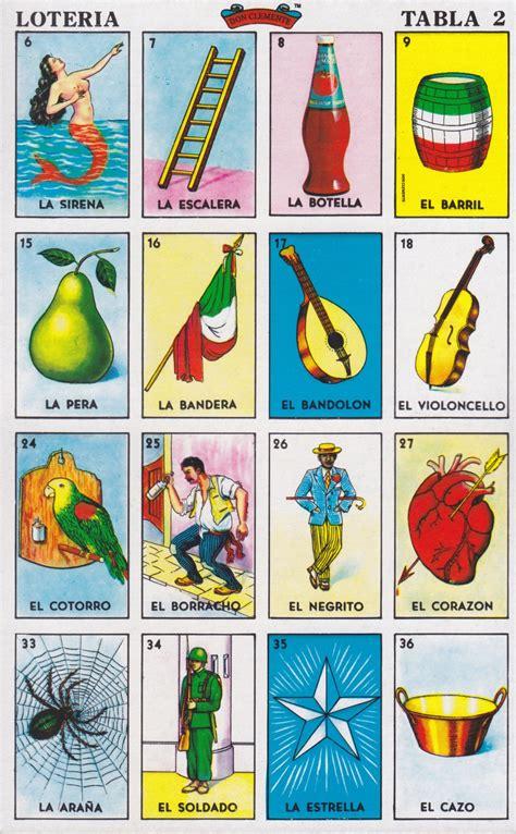 tablas de loteria mexicana para imprimir hit city u s a photo