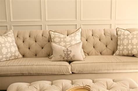 white velvet couch photo