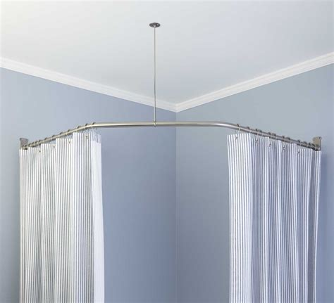 circular curtain rods circular curtain rod for shower window curtains drapes