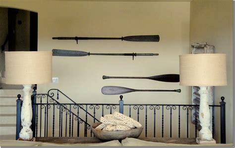amazing Beach Theme Decorating Ideas #2: paddles-in-interior-decorating-6.jpeg