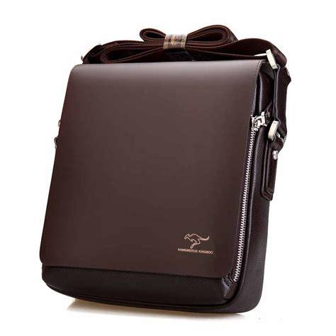 Tas Kantor Pria Kasual Plo Center Black 2017 new messenger bag big promotion kangaroo brand