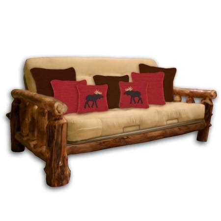 log futon bed rustic log beds aspen futon