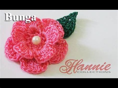 tutorial bros rajut you tube crochet tutorial bunga rajut flower crochet 001