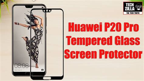 Zilla Tempered Glass Protection Screen 026mm For Huawei Ascen huawei p20 pro tempered glass screen protector