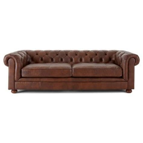 nottingham 96 quot leather sofa jcpenney chairs