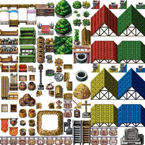 Game Maker Studio RPG Tilesets.png (PNG Image, 512 × 512 pixels)   GAMES: sprites   Pinterest