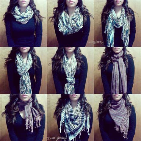 tutorial ways to wear a scarf 9 ways to wear a scarf tutorial now on youtube com