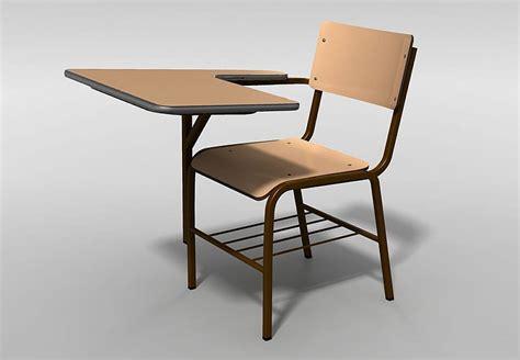 School Chair 3d Model