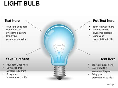 Light Bulb Powerpoint Template by Light Bulb Powerpoint Presentation Templates