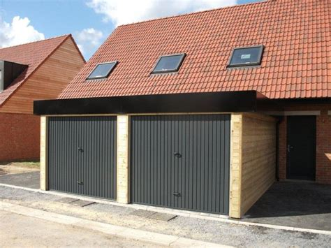 Construire Un Garage En Bois 2191 by Construire Garage Bois Adoss 233 Mur Garages Adoss 233 S Maison