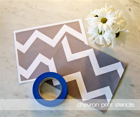 chevron template for painting diy chevron decor8