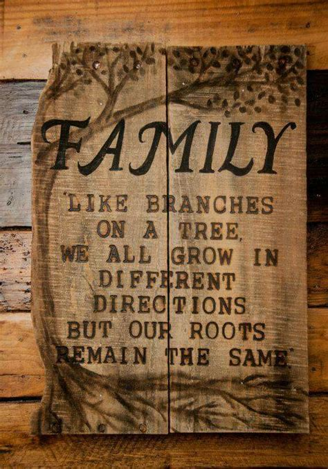 woodcraft and cing books family like branches on a tree we all grow in different