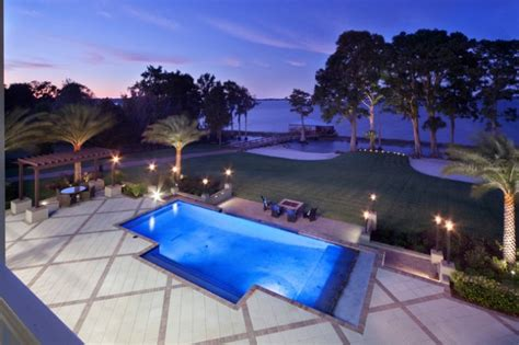 unbelievable transitional swimming pool designs