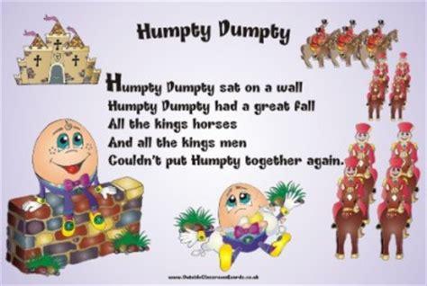 full humpty dumpty nursery rhyme nursery rhyme humpty dumpty nursery rhymes outside